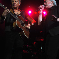 Graham Russell e Russell Hitchcock do Air Supply no Vivo Rio, Rio – 02/04/2011