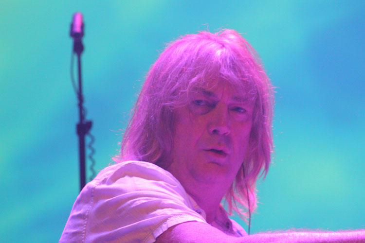 Geoff Downes (teclado) do Yes no Vivo Rio - Rio, 25/05/2013