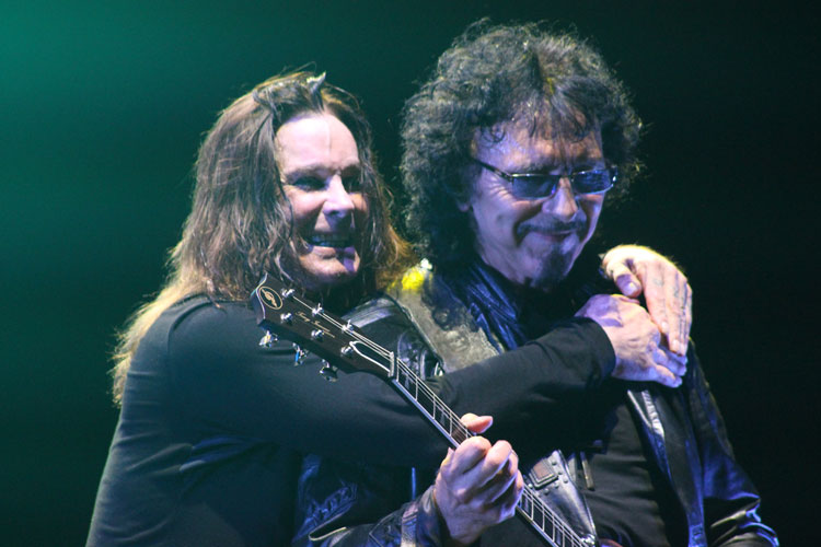 Ozzy e Tony do Black Sabbath na Praça da Apoteose, Rio - 13/10/2013