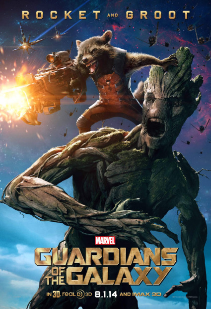 Guardioes-da-Galaxia-poster-Rocket-Groot